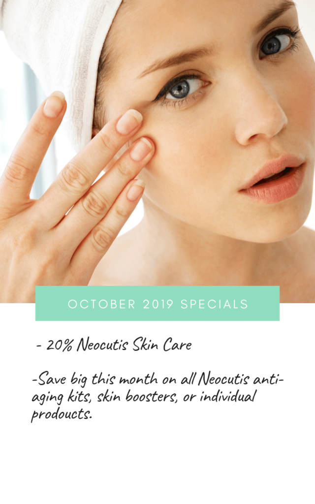 image of monthly specials at Radiant Skin